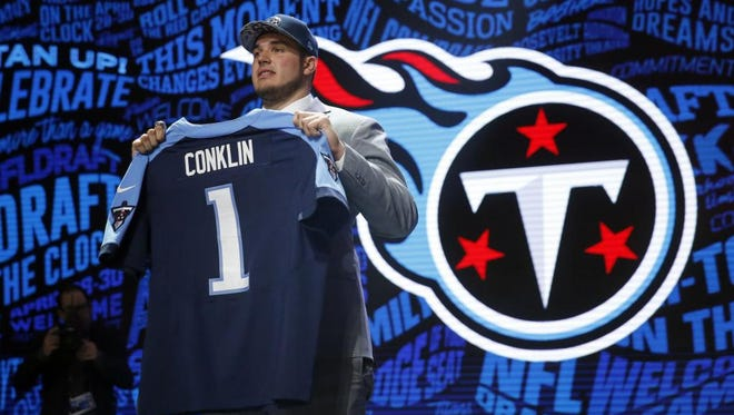 Jack Conklin was the Titans' first-round pick in the 2016 draft.