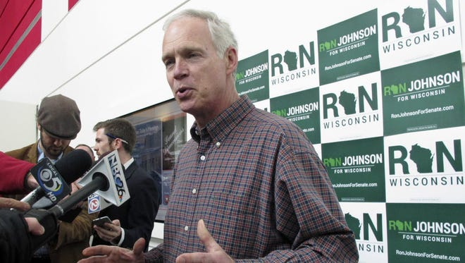 The state Democratic Party claims Republican U.S. Sen. Ron Johnson supports a plan to cut Social Security benefits and raise the retirement age.