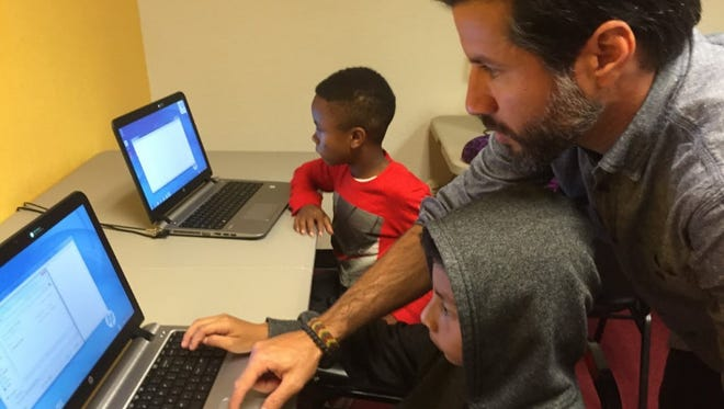 Kids who code are candidates for some of the most lucrative jobs in teh country, a new study finds. Here, children learn to code at the Calvary Hill Community Church, which in June 2016 took part in an initiative from Rev. Jesse Jackson's Rainbow PUSH Coalition to forge a new generation of computer programmers.