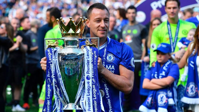 John Terry capped his 22-year association with Chelsea with a Premier League title.