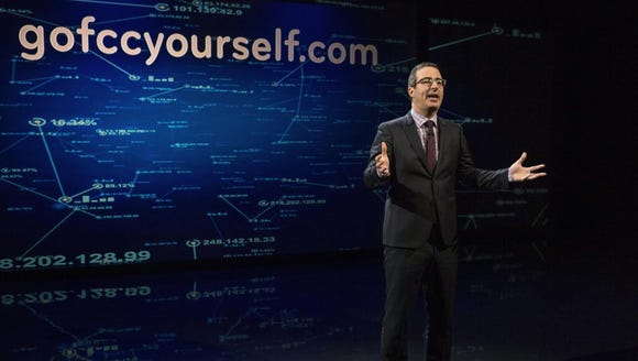 """Last Week Tonight with John Oliver"" addresses net"