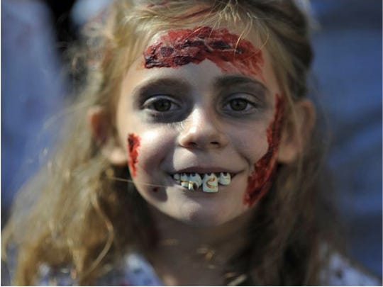 The zombie walk/run is set for May 2.