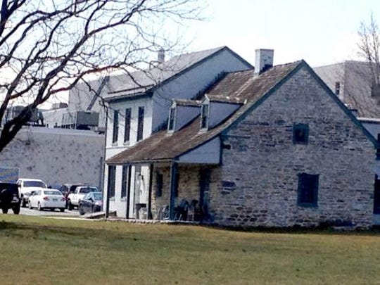 The Strickler Farmhouse sits on York County property.