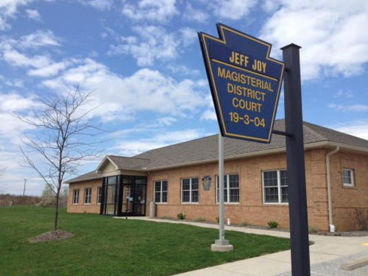 Jeffrey Joy, a district judge in southern York County, has been charged with indecent assault.