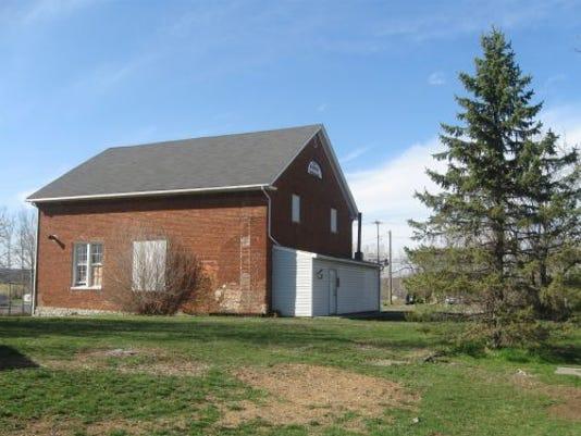The old Methodist Episcopal Church in Bunker Hill (Scott Mingus)