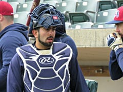 Somerset Patriots: Bullpen catcher Alfonso Reda pressed into action, gets a hit