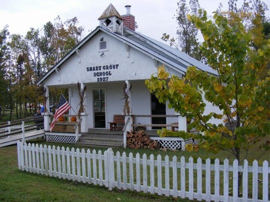 "The Shady Grove School at Rapp's Barren Settlement in Cooper Park will be one of multiple sites during the ""Passport to History Progressive Tour"" for Baxter County History Day."