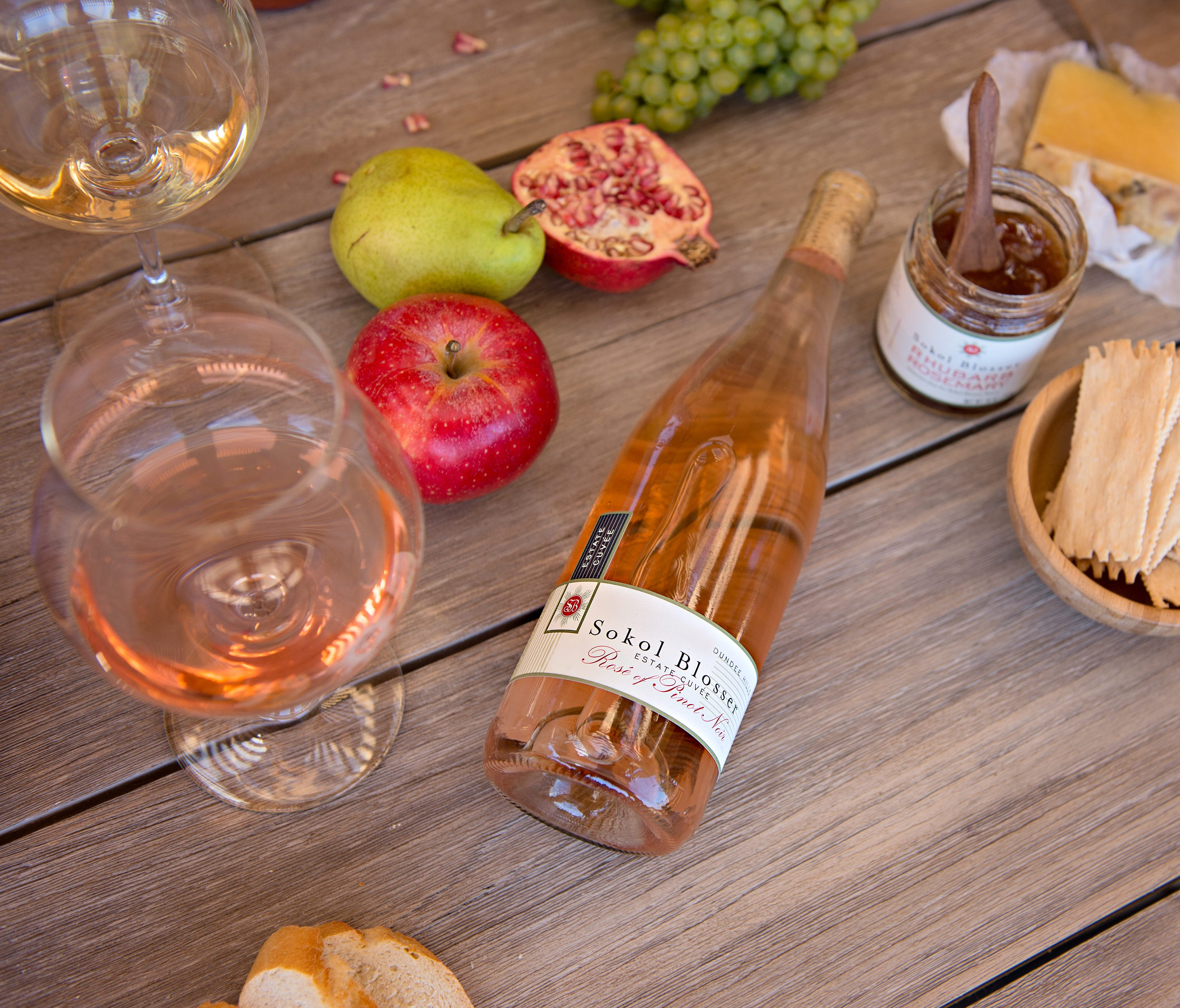 Oregon's Sokol Blosser released its 2017 Estate Rosé of Pinot Noir on Valentine's Day. The 100% Pinot Noir grapes are grown in the Willamette Valley.