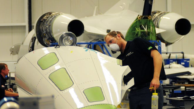 Among local economic incentives, Space Florida financed construction of a Melbourne factory where Embraer now builds jets.