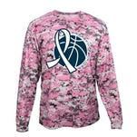 Marysville will be wearing these pink shooters shirts on Friday night during warmups