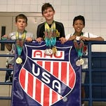 Matcat trio earns firsts at AAU Eastern Grand Nationals