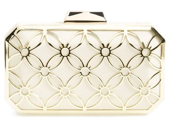 Sweetie Box Clutch by Big Buddha, $65 at Nordstrom, Somerset Collection North, Troy