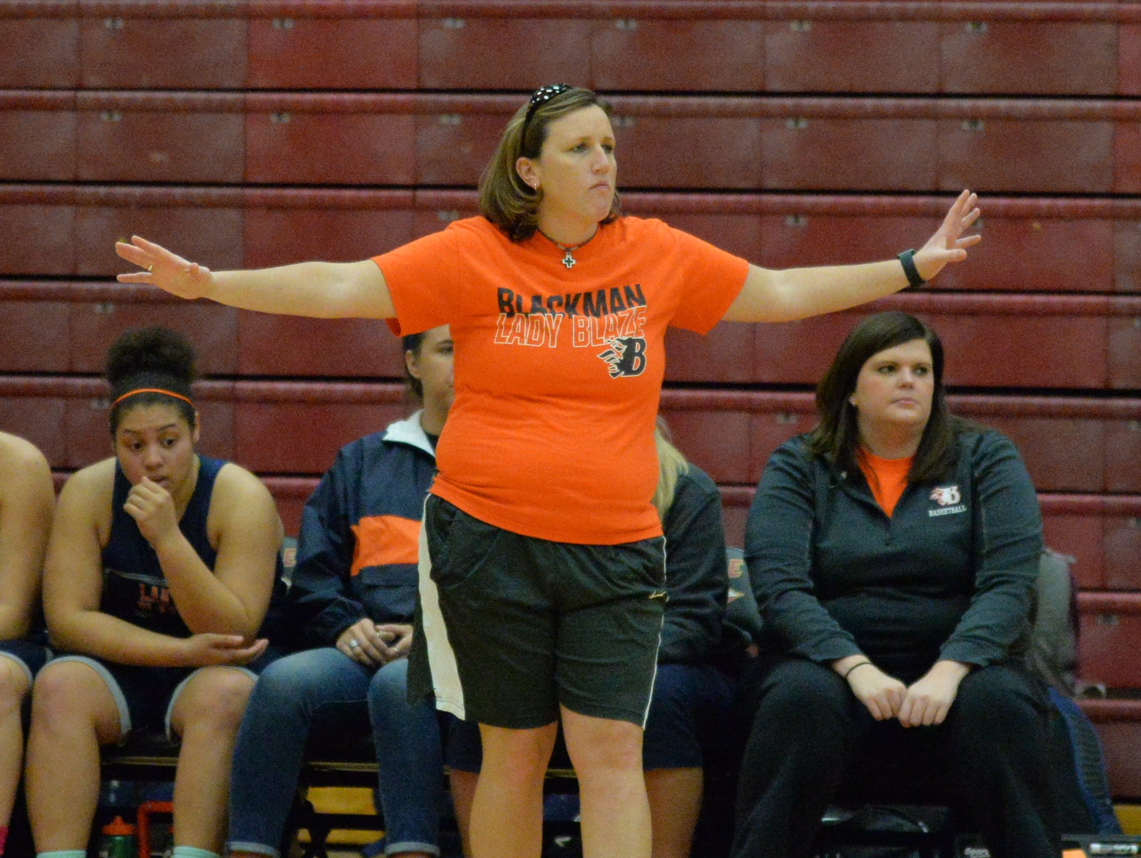 Jessica Jackson begins her first season at Blackman High after spending the past two as the head girls basketball coach at Stewarts Creek.