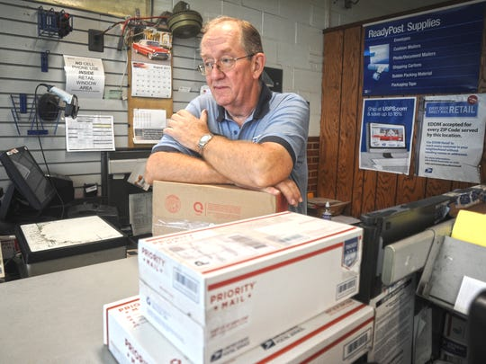 David Mingin started as a 16-year-old stamping mail by hand at the post office in Burlington City.