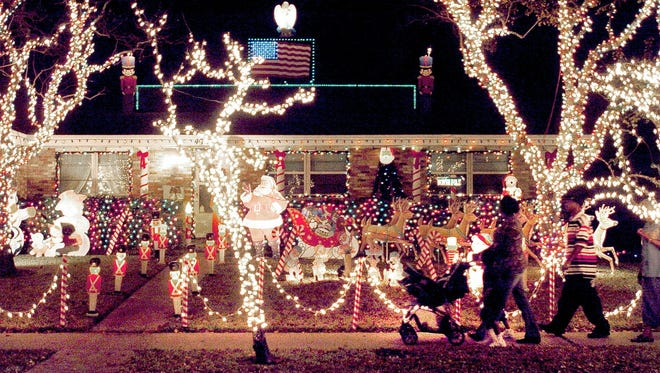 A Southside neighborhood transforms into Candy Cane Lane each December.