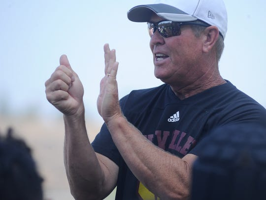 Jim Benkert, the new head coach at Simi Valley High,