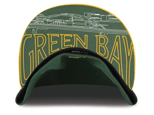 Packers draft cap features Green Bay skyline 8ac1fed6fbc