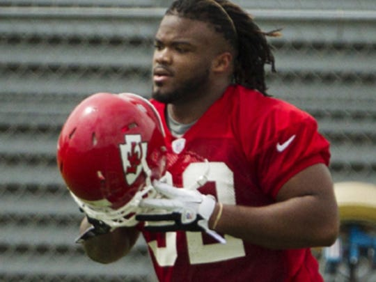 Former University of Memphis defensive lineman Dontari