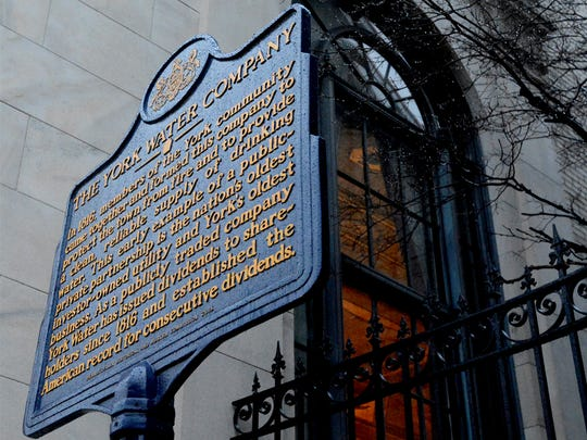 The York Water Co. celebrated 200 years by unveiling