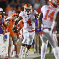 Despite some close calls, Clemson quarterback Deshaun Watson and the Tigers are 7-0 overall and 4-0 in ACC play heading into this week's game at Florida State.