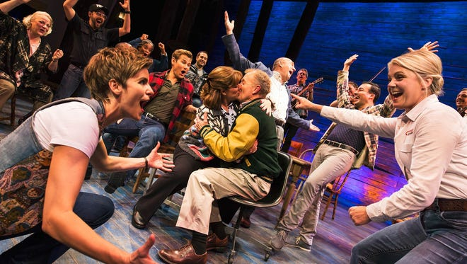 'Come From Away,' about planes grounded in Newfoundland, is a contender fo the 2017 Best Musical Tony Award.