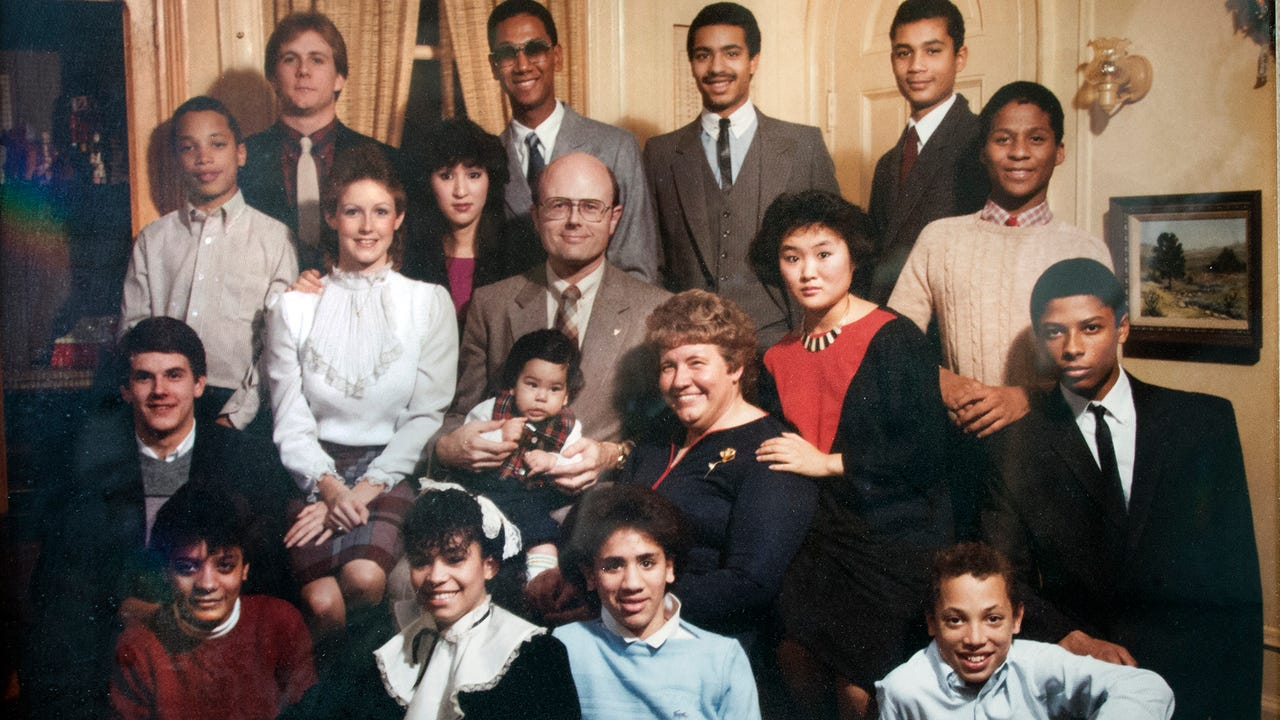 Barbara Tremitiere was mother to 15 children, 12 adopted, and helped place 2,000 children into adoptive families.