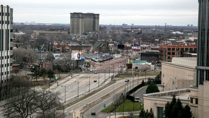 Hopes and fears in Corktown as Ford celebrates train station purchase