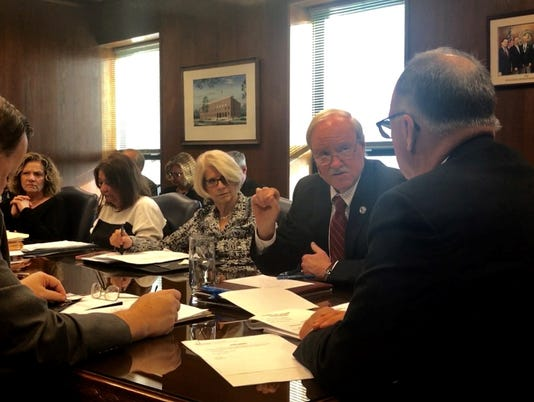 Freeholders Budget
