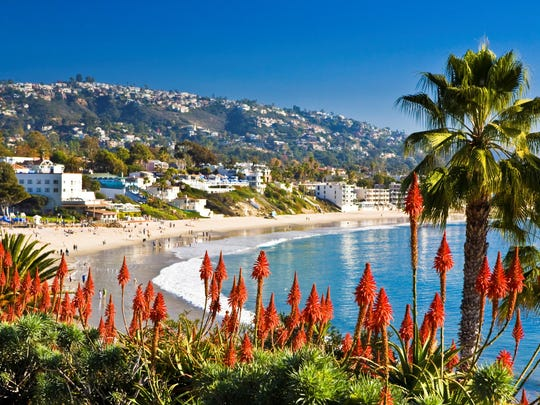 Laguna Beach is the OC's glittering jewel with gentle ocean breezes and sparkling water perfect for inspiring artistic creations.