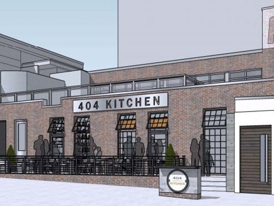 Enlargement of windows is being sought by 404 Kitchen.