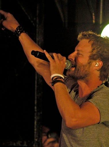 Phoenix-raised singer Dierks Bentley headlined Country Thunder Arizona in 2012 and 2017.