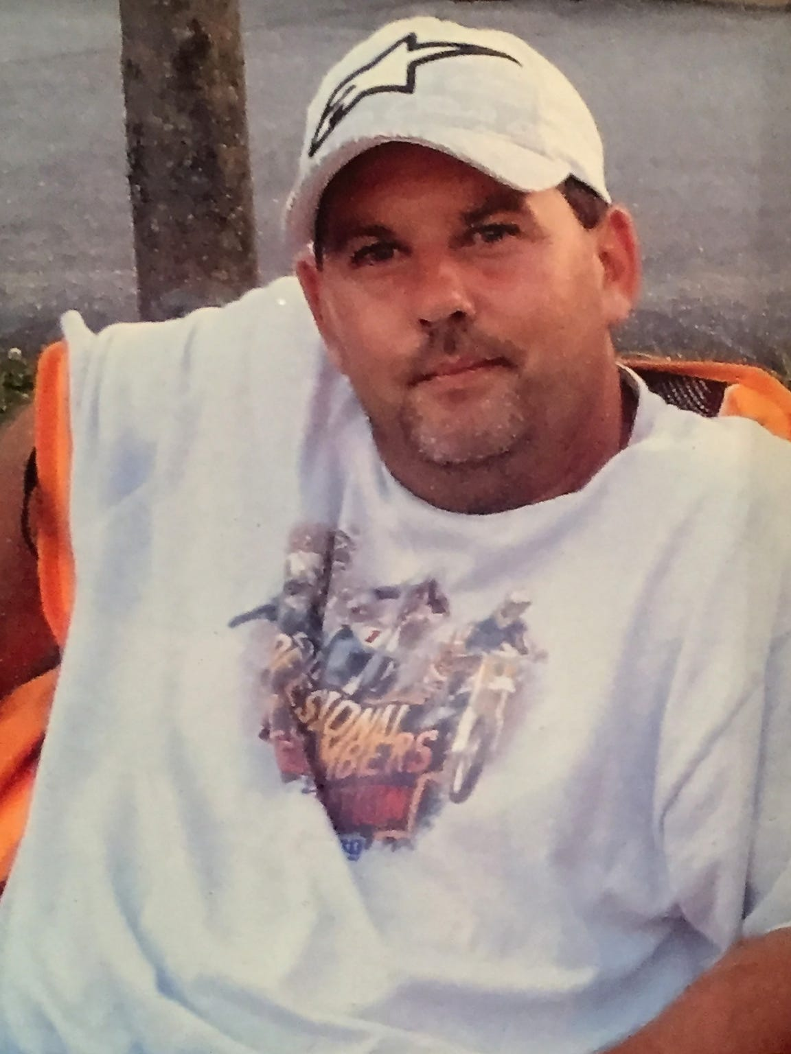A photo of Scott Hoke, which was shown to a reporter