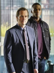 "Bill Paxton left, seen with ""Training Day"" co-star Justin Cornwell, died in 2017 after shooting the first and only season of the CBS drama."