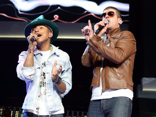 FILE: Blurred Lines Guilty of Infringement on Marvin Gaye Song Walmart 2014 Shareholders' Meeting