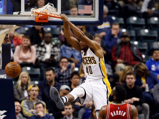NBA: Houston Rockets at Indiana Pacers