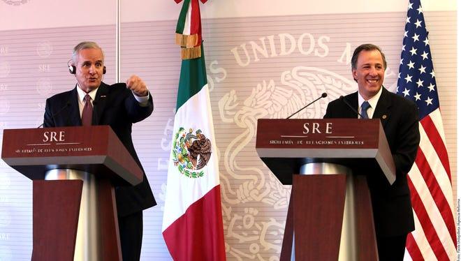 José Antonio Meade, secretario de Hacienda de México.