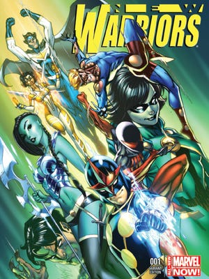 "Christopher Yost reboots the old 1990s superhero team with ""New Warriors"" No. 1."