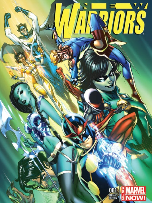 New Warriors cover