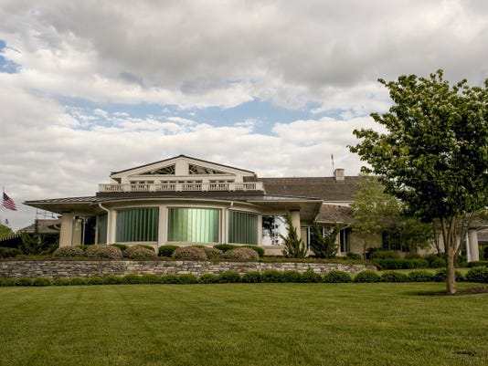 The clubhouse at Lancaster Country Club will be a hub of activity during the U.S. Women's Open.