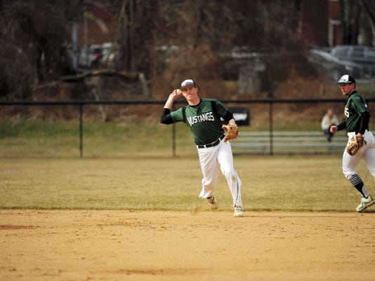 Stevenson senior Troy Miller recently earned Commonwealth Conference Player of the Week honors. The Susquehannock graduate had an eight-game hitting streak snapped last weekend.