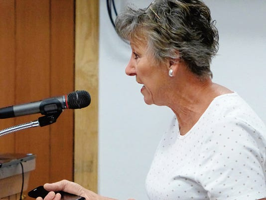 Barbara Yates found it hard to control her emotions last month while telling Lincoln County commissioners about the damage to her property.