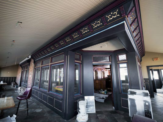The owners of The First Post restaurant are adding an enclosed porch area where diners can eat. The restaurant will feature American fare and is expected to open this summer, said Athena Keares, one of the operators of the family-owned restaurant.