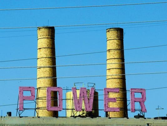 El Paso Electric Company's Rio Grande Plant.