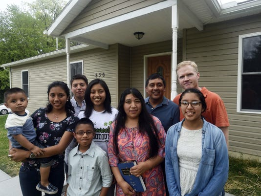 Franklin County Habitat for Humanity welcomed the Gomez family to their new home on Limestone Drive, Chambersburg on Saturday. The home is the 34th one in the county constructed by the nonprofit organization.