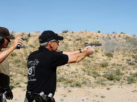 Shooters from across the state competed Saturday at the Carlsbad Shooting Range and Action Sports Recreation Area. The competition raised money for Operation Wounded Warrior of New Mexico. The organization is run by veterans to help disabled veterans.