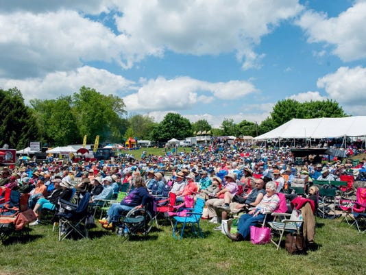 The Gettysburg Bluegrass Festival attracts thousands to the Gettysburg area every six months.