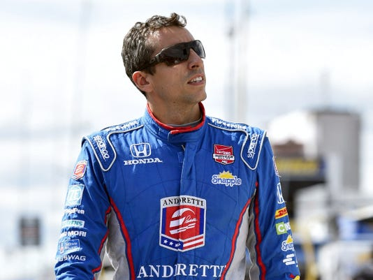 Justin Wilson died from a head injury suffered when a piece of debris struck him Sunday at Pocono Raceway. He was 37.