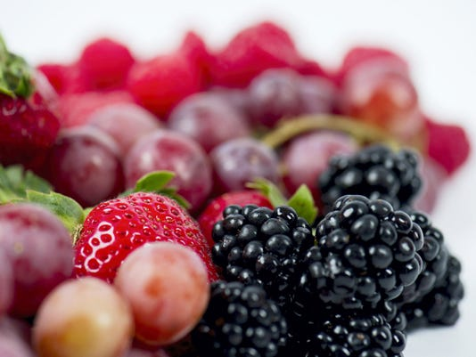 Summer's bounty of berries and cherries grown right here in Franklin County offer countless ideas for summer snacks — fresh or frozen.