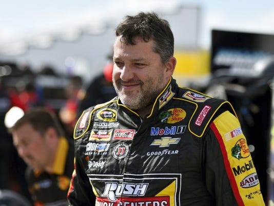 Tony Stewart during qualifying for the NASCAR Pocono 400 on Friday in Long Pond, Pa. Stewart is scheduled to race Sunday at Watkins Glen International Raceway for the first time since 2012. He missed the 2013 race with a broken leg, then skipped the race last season following the accident in which his sprint car struck and killed Kevin Ward Jr. the night before the race.
