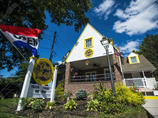 Treat Yo' Self, a new frozen yogurt shop opened on July 3 on Baltimore Street in Gettysburg.